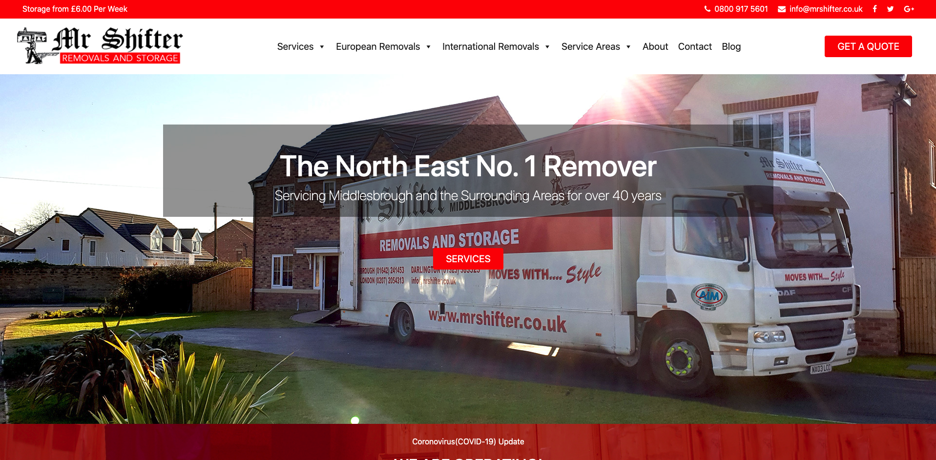 Mr Shifter Removals and Storage