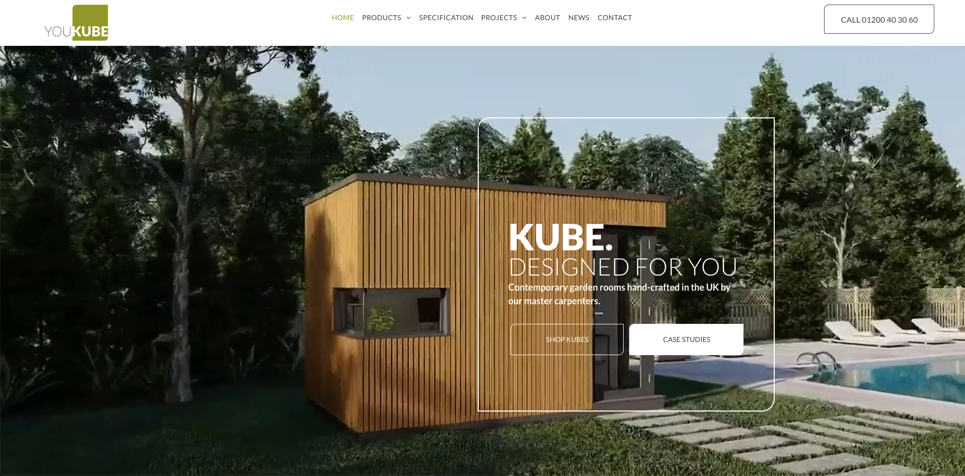 YouKube Garden Rooms